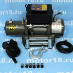 Лебедка ATV Electric Winch 12v, 6000LBS.