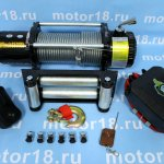 Лебедка ATV Electric Winch 12v, 8500LBS.