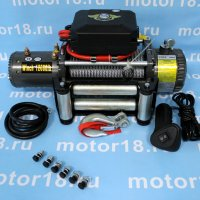 Лебедка ATV Electric Winch 12v 12000LBS.